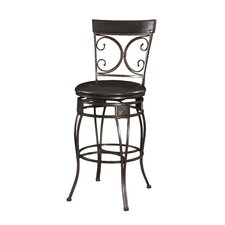 "Big and Tall XL 30"" Swivel Bar Stool with Cushion"