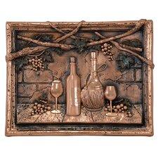 Wine Tasting Copper Mural/Backsplash
