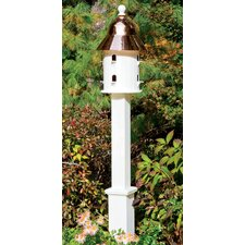 Lazy Hill Farm Boxford Birdhouse Post