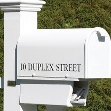 Lazy Hill Farm Mailbox Lettering