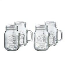16 Oz. Mug with Handle (Set of 4)