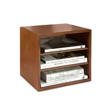 Stacking Wood Desk Organizers Cube with Shelves