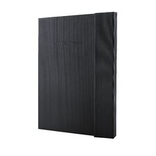Sigel Hardcover Graph Notebook - Large Size with Magnetic Closure