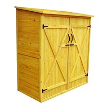 5 Ft. W x 3 Ft. D Wood Lean-To Storage Shed
