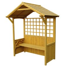 6.5 Ft. W x 4 Ft. D Firewood Shed