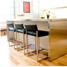 "Graph 24"" Bar Stool with Cushion"