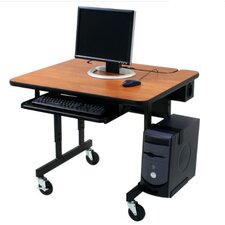 Classic Flip Top Workstation Computer Desk