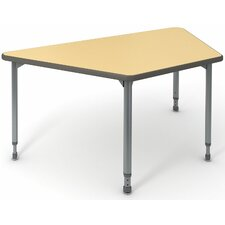 "A&D 30"" x 60"" Trapazoidal Classroom Table"