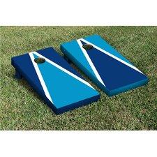 Triangle Alternating Cornhole Boards Game Set