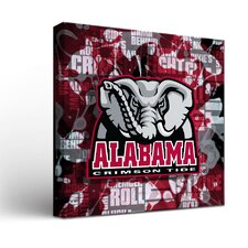 NCAA Fight Song Graphic Art on Wrapped Canvas