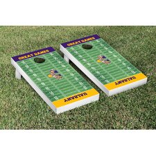 NCAA Football Field Version Cornhole Game Set