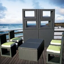 Deck Cetra 6 Piece Lounge Seating Group with Cushions
