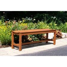 Eucalyptus Garden Bench