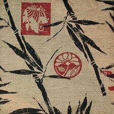 Modern Loft Bamboo Islander Designer Print Slipcover