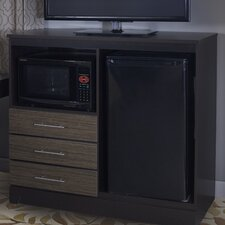 Deco Combination Mini Refrigerator and Microwave