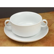 Culinary Proware French Onion with Saucer (Set of 4)