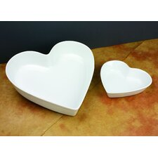 Culinary Proware Heart Condiment Server