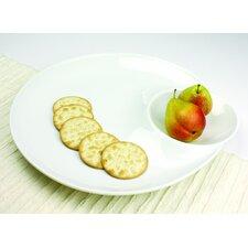 Entertainment Serveware Modern Clam Shell Platter