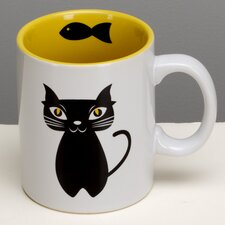 Chat Noir 11oz. Mug (Set of 4)