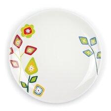 """Jardin Matisse 10.5"""" Multi Dinner Plate (Set of 4)"""