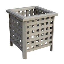 Lattice Square Planter Box