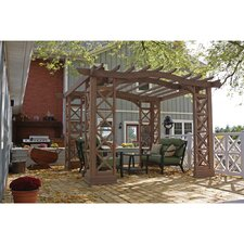 Arched Roof Pergola