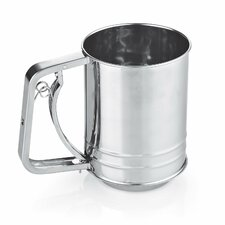 Stainless Steel 3-Cup Flour Sifter