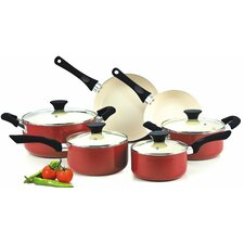 Ceramic Non-Stick 10 Piece Cookware Set