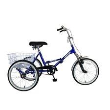 Tri-Rad Folding Tricycle Bike