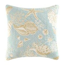 Natural Shells Quilt Cotton Throw Pillow