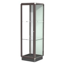 Prominence Series Lighted Floor Display Case