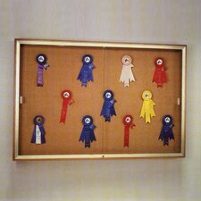 Legacy 88 Series Case Wall Mounted Magnetic Bulletin Board