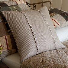 Farmhouse Stripe Porch Cotton Throw Pillow