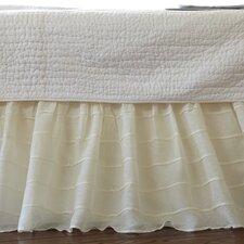 Tucked Linen Bed Skirt