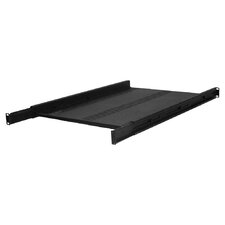 "26""D Double-Sided Non-Vented Heavey Duty Adjustable Shelf - 1 RU"