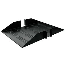 "18""-25""D 1 Piece Double-Sided Vented Shelf - 2 RU"