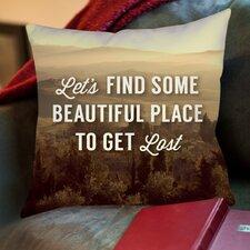 Beautiful Place Throw Pillow