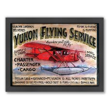 Yukon Flying Framed Graphic Art