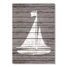Quad Sailboat Graphic Art