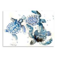 Sea Turtles Painting Print