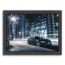 Car Black Framed Photographic Print