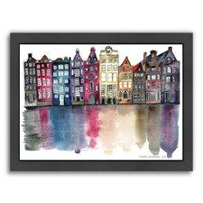 Amsterdam Framed Graphic Art