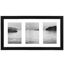 """3 Slot 4"""" x 6"""" Collage Picture Frame"""