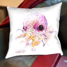 Baby Cute Octopus Throw Pillow