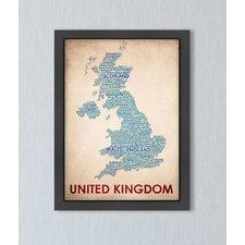 United Kingdom Textual Graphic Art