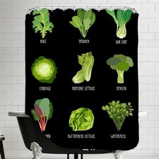 Garden Greens Shower Curtain