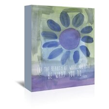 Rumi Watercolor Beauty Of Love by Amy Brinkman Graphic Art on Wrapped Canvas