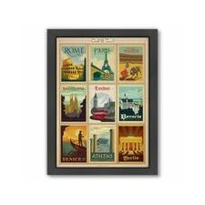 World Travel 1 Framed Vintage Advertisement