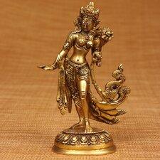 Brass Series Flowing Apsara Figurine
