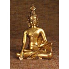 Brass Series Buddha Thai Sitting Figurine